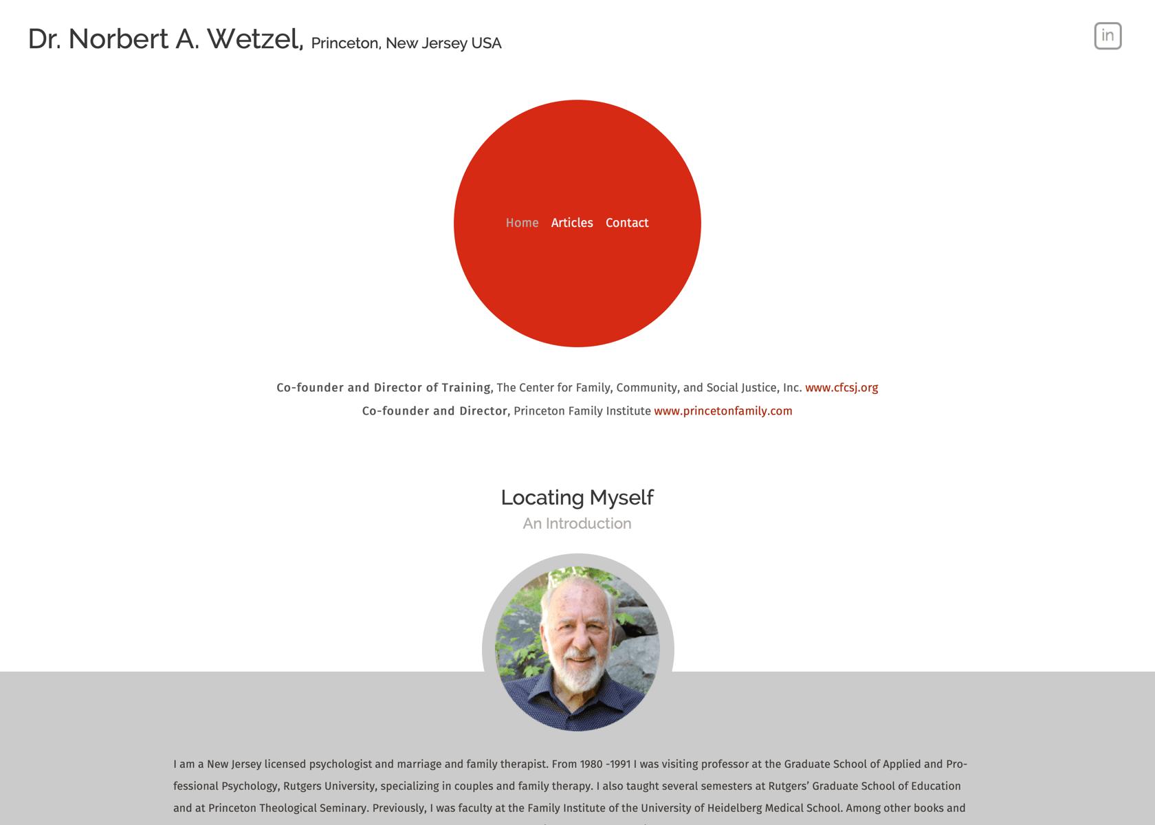 Dr. Norbert Wetzel